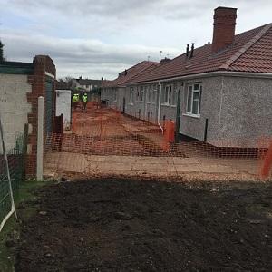Rostholme Square –    Sewer Rehabilitation Scheme